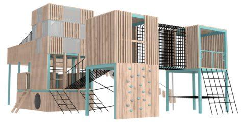 Игровой комплекс Параметрические кубы
