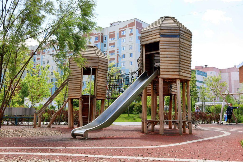 парк Белые цветы Казань