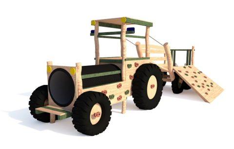 Игровой комплекс Трактор с прицепом